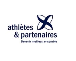 logo athlète et partenaire