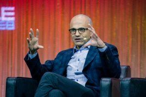 Satya Nadella, PDG de Microsoft, parle d'Openfield