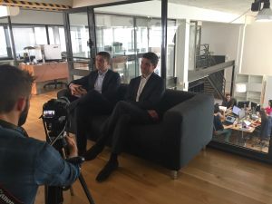 Capital Magazine interviewing Openfield